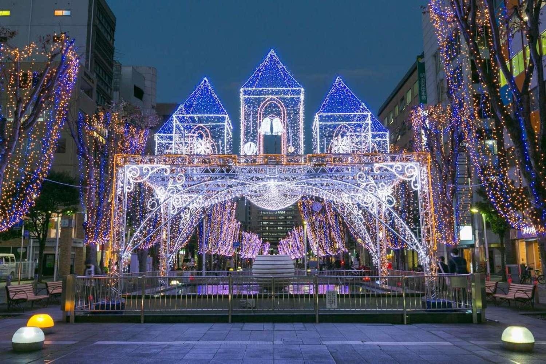 Illuminations in 2020-21 Shizuoka-city