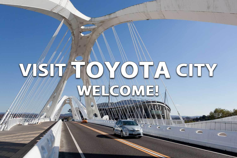 Situs dalam berbagai bahasa untuk memperkenalkan kota Toyota