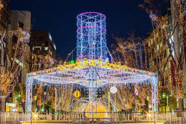 Shizuoka la parte central el centro de cooperación la visión del área urbana Shizuoka comercial, Yaizu, Fujieda, Shimada 2018-2019 circulación de iluminaciones