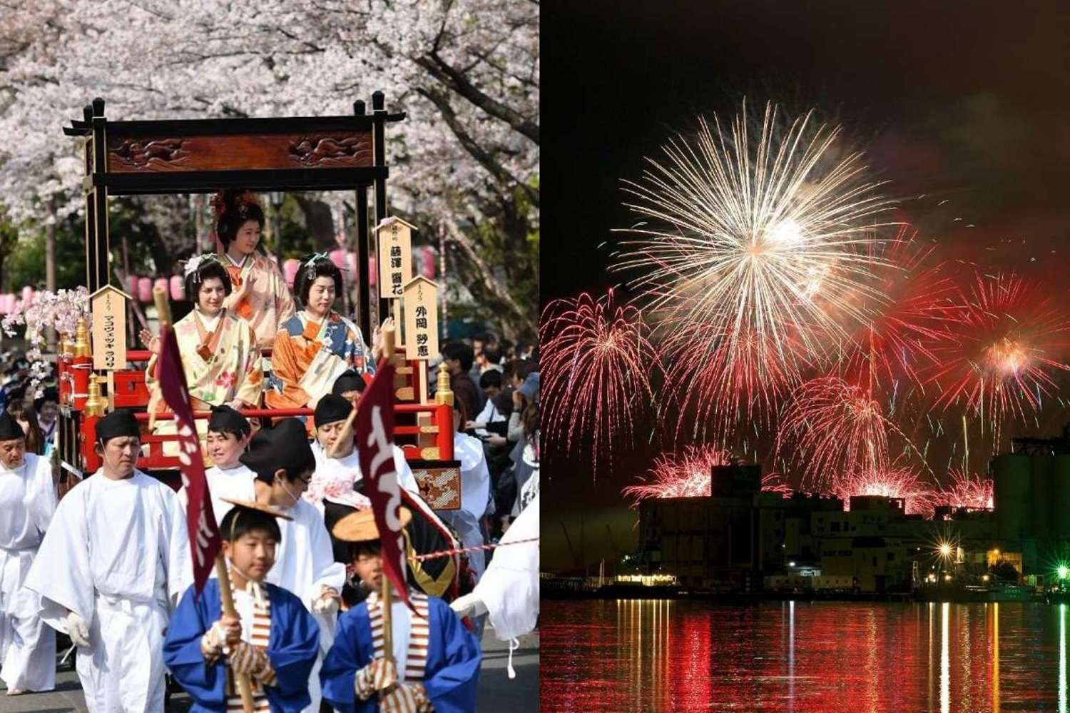 "Two major event ""Shizuoka festivals"" of historical Shizuoka-shi & ""all the spring water and festival"""
