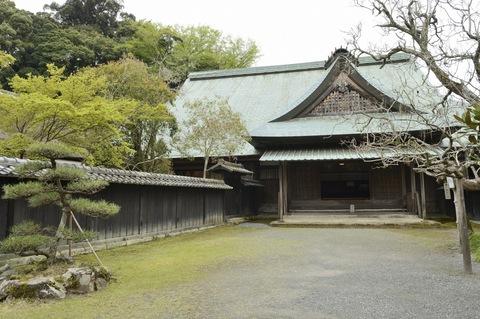 江川邸 表門、玄関