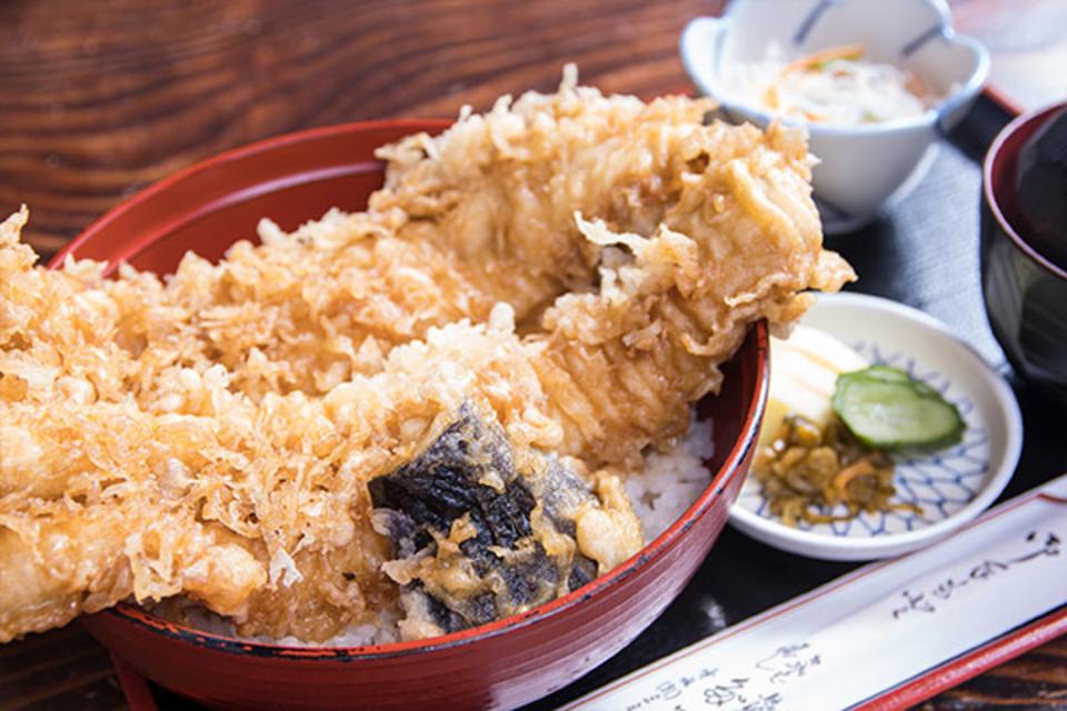 20 meals of limitation! Sea eel tempura bowl!