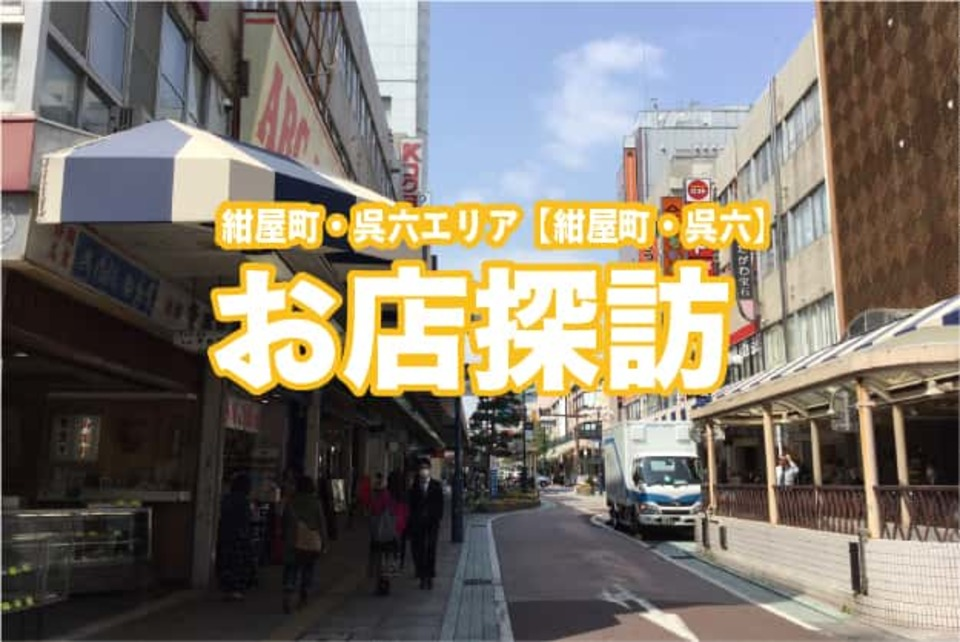 Shop sight-seeing of Konnyacho, Kure six area
