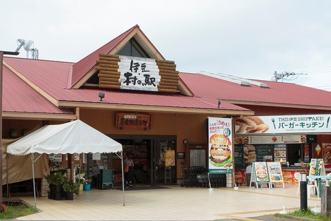 Izu, village station