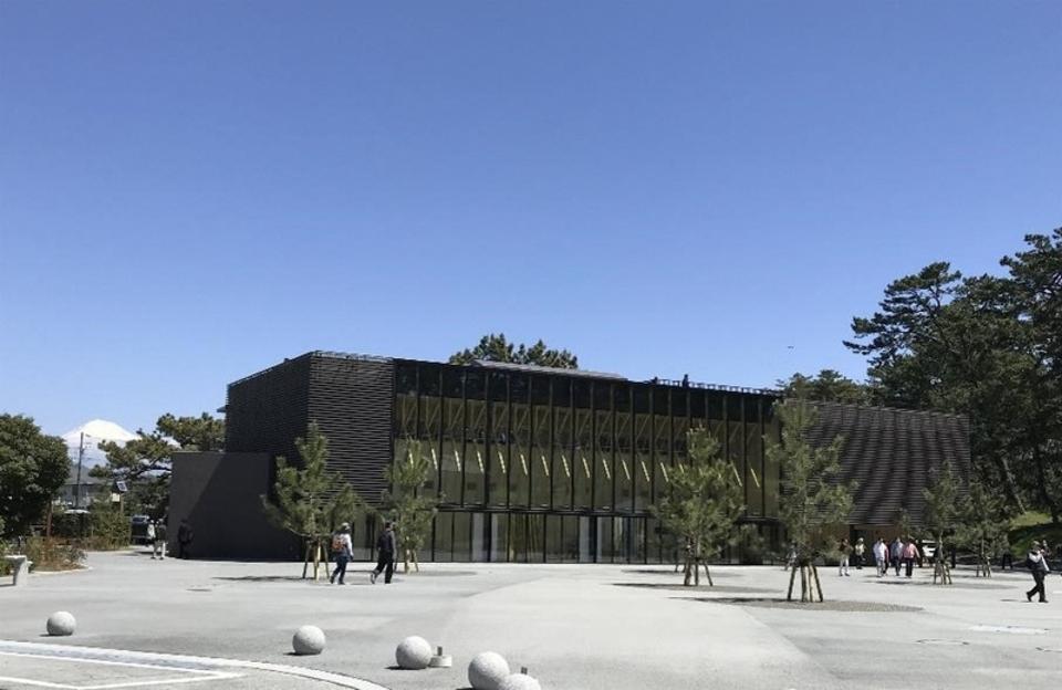 Shizuoka-city Miho no Matsubara culture creation center mihoshirube