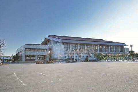 Yoshida-cho synthesis gymnasium (the 2F hall side)