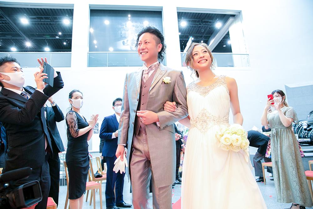 トヨタ博物館初の結婚式