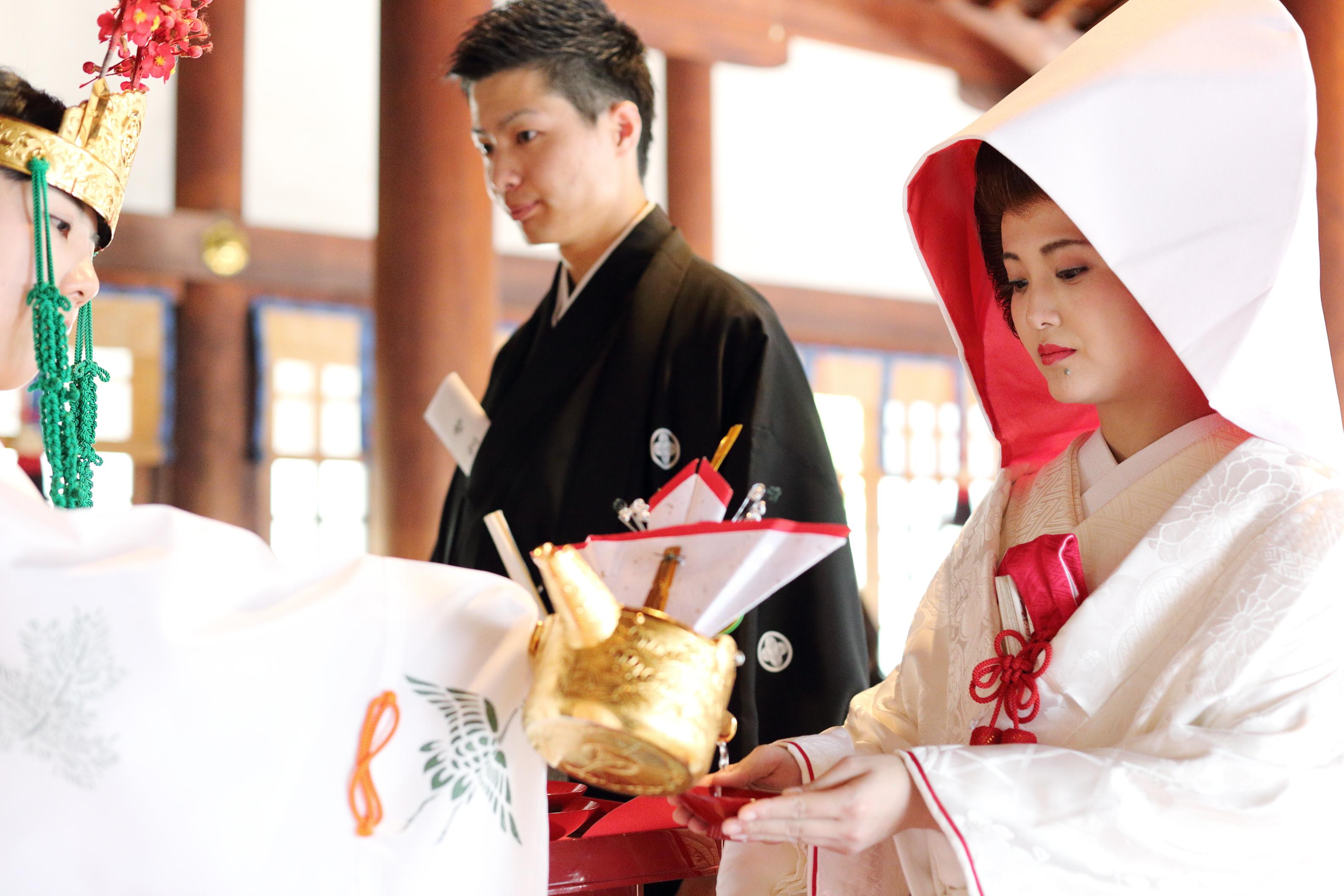 伝統の婚儀