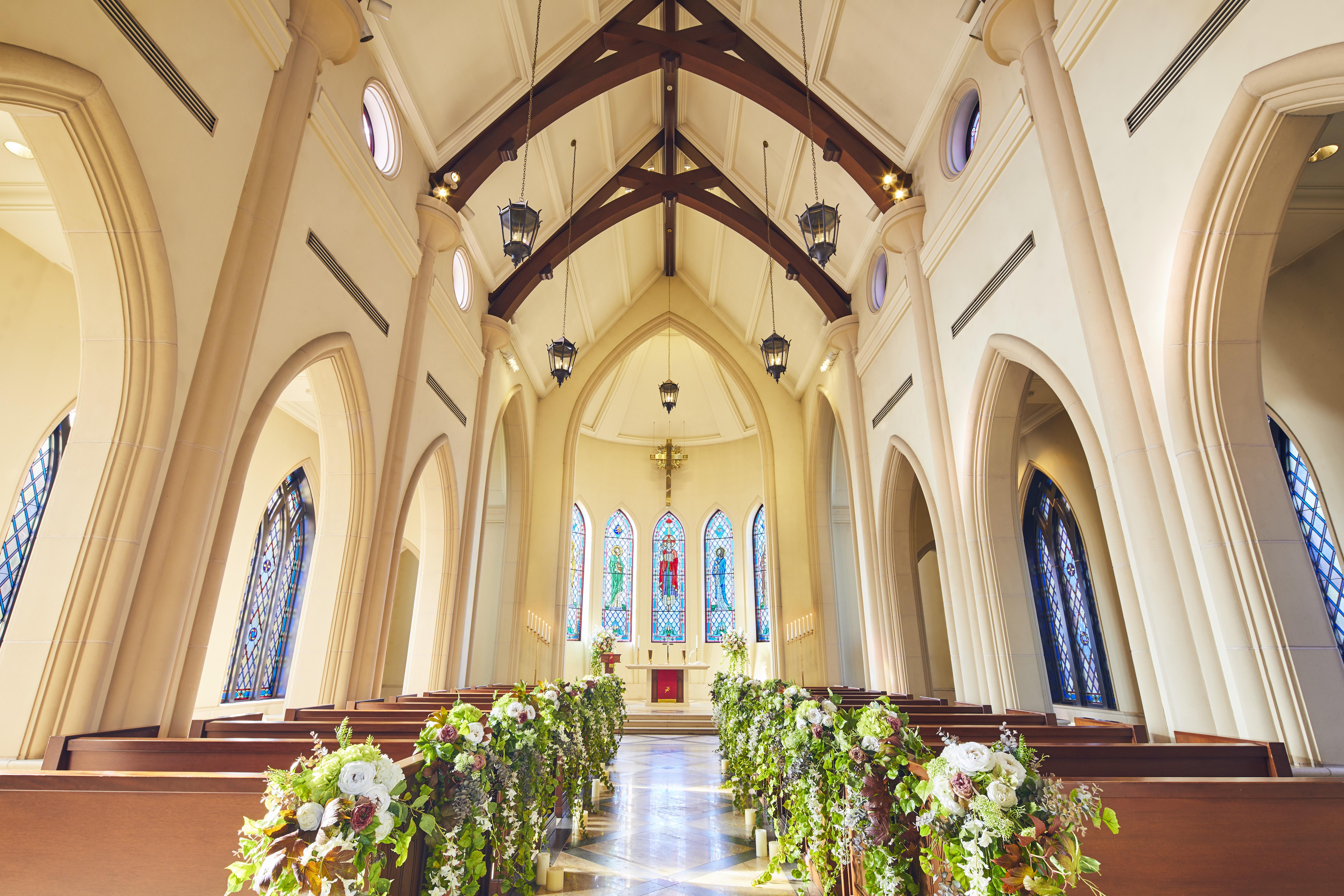 光あふれる大聖堂