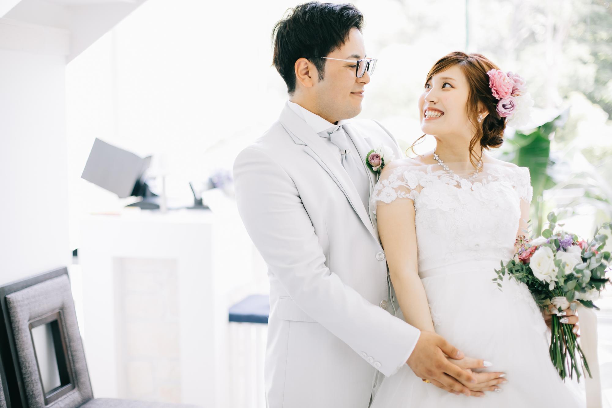 ◆マタニティW◆専任のスタッフがフルサポートで安心パパママ婚