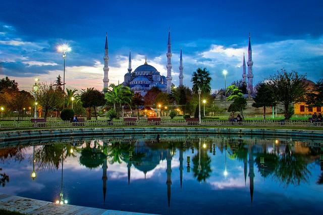 トルコ イスタンブールの風景画像