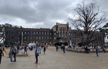 京橋口から天守閣周辺3