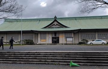 豊国神社から西の丸庭園1