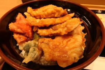ぶり天丼2