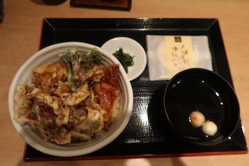 ホタルイカ天丼1