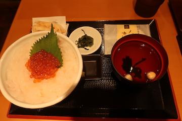 白えび刺身丼スペシャル1