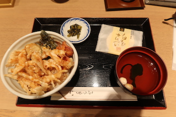 白えび天丼1
