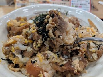 プレミアム牛とじ丼2