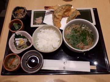 天ぷら御膳1
