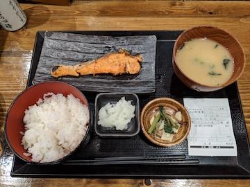 銀鮭定食5