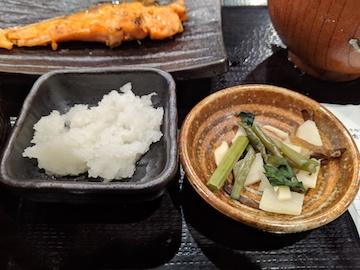銀鮭定食7