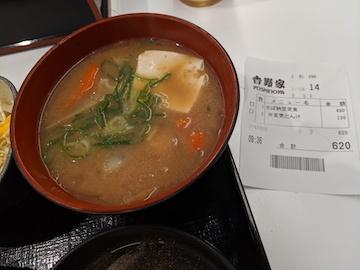 塩鯖納豆定食2