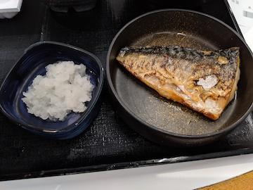塩鯖納豆定食3