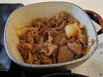 焼魚牛小鉢定食2