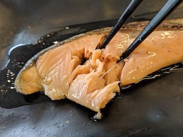 焼魚牛小鉢定食4