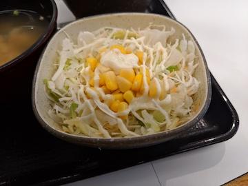 納豆牛小鉢定食4