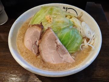 背脂醤油ど豚骨麺1