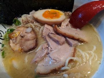 特製鶏白湯麺2