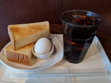 トースト&エッグセット1