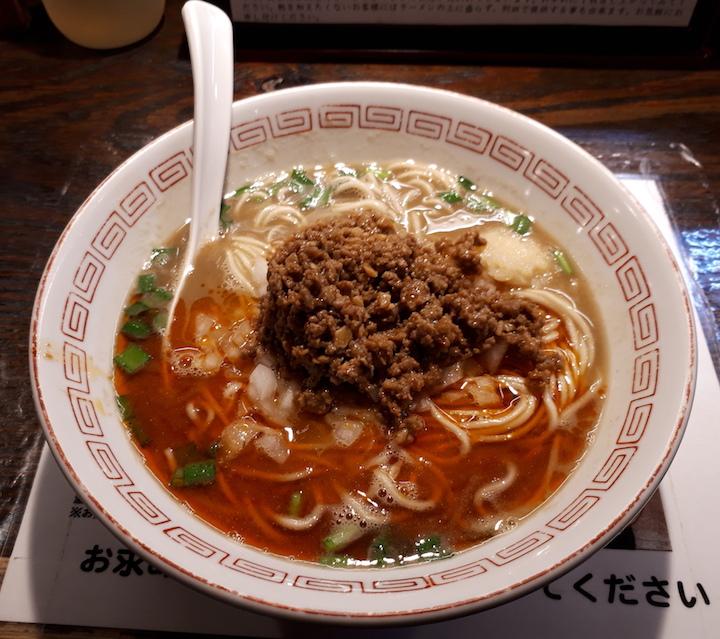 ニボ台湾ラーメン
