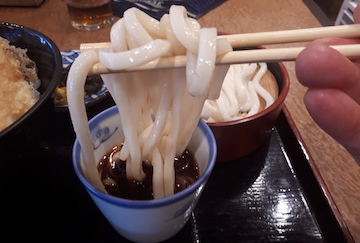 平目と野菜の天丼セット3