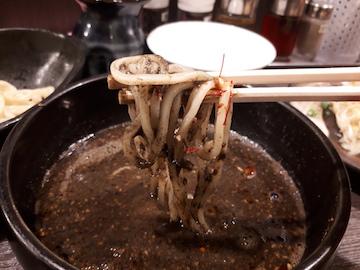 黒胡麻坦々つけ麺2