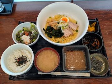 和風つけ麺定食1