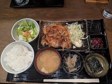 生姜焼き御膳1