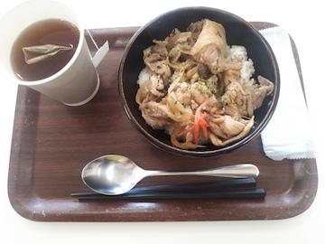 豚の生姜焼き丼1