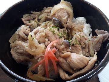 豚の生姜焼き丼2