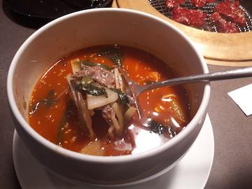 焼肉とスープ3