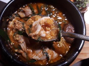 焼肉と豆腐チゲ2