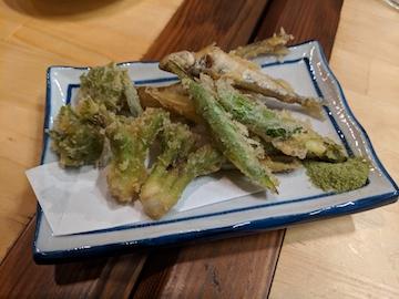 春野菜天ぷら(1)