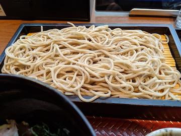 ポン酢ジュレで食べる鰹丼とお蕎麦5