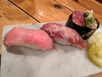 肉トロ3種盛り1
