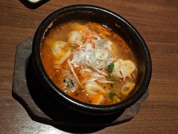 坦々スープ餃子1