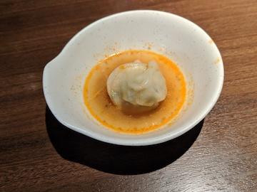 坦々スープ餃子2