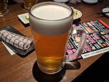 生ビール(大ジョッキ)