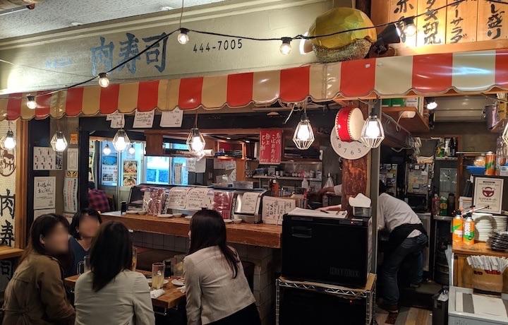 桜肉の肉寿司