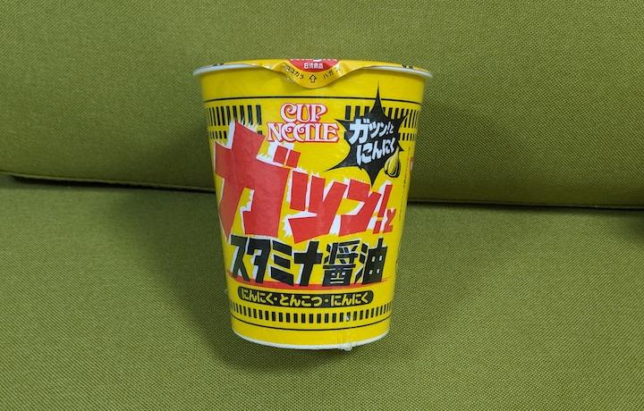 カップヌードル スタミナ醤油 ビッグ